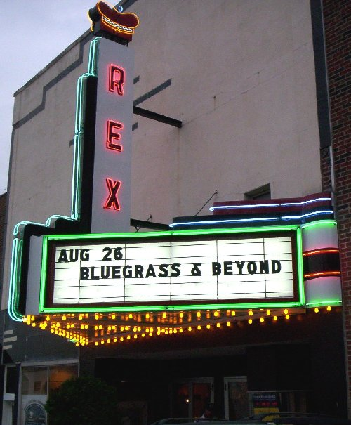 Rexx Theater Marquee